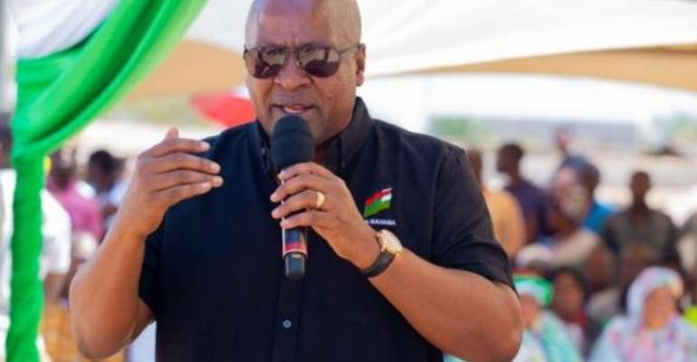 Mahama Promises To Revive Abandoned Cold Store Project At Nyanyano