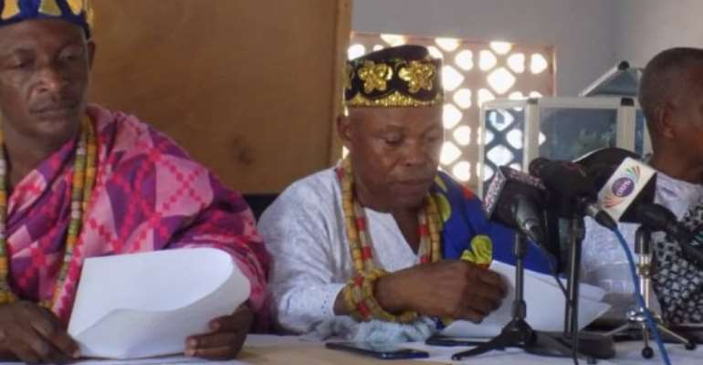 Afife Chiefs Disown Volta Secessionists