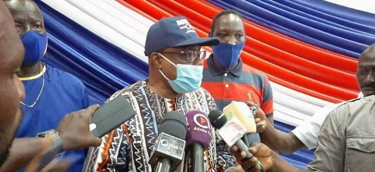 We Have Structures To Address Aggrieved Parliamentary Aspirants – Mac Manu