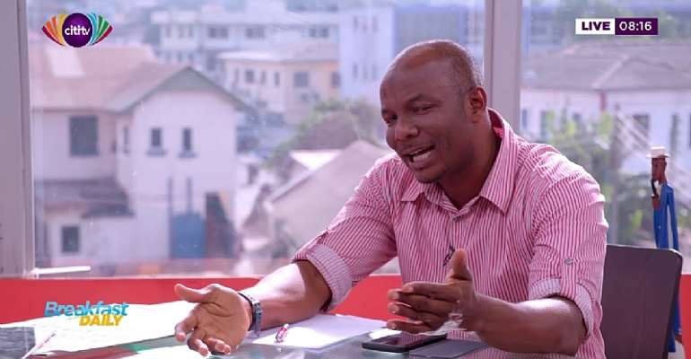 Imminent Mudslide Along Accra-Weija Road — Building Consultant Predicts