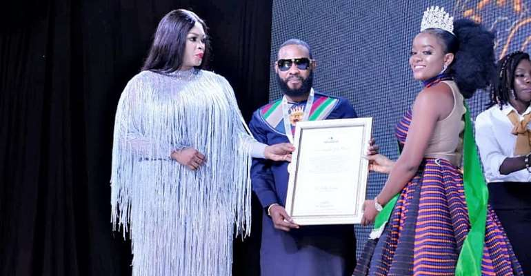 Abuja Young Millionaire Dr. Kelly Sampa Bags Peace Achievers International Awards 2019