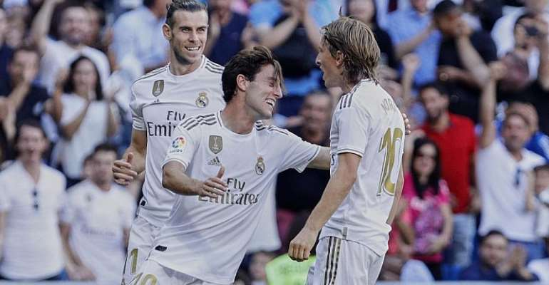 Clasico Concerns For Madrid As Modric And Bale Sit Out Training
