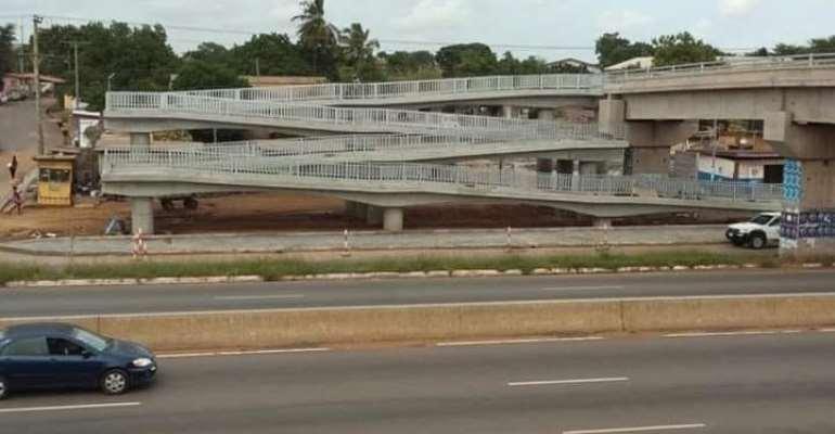 100 Pedestrians Grabbed For Dodging Madina-Adentan Footbridges