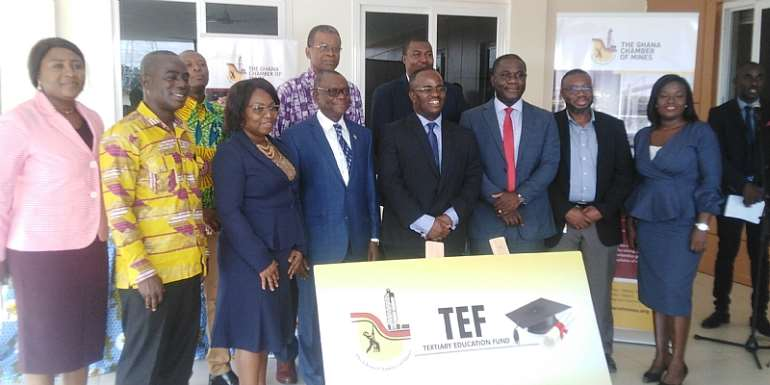 Ghana Chambers Mines Allocates USD$442,000 ToTertiary Educational Fund