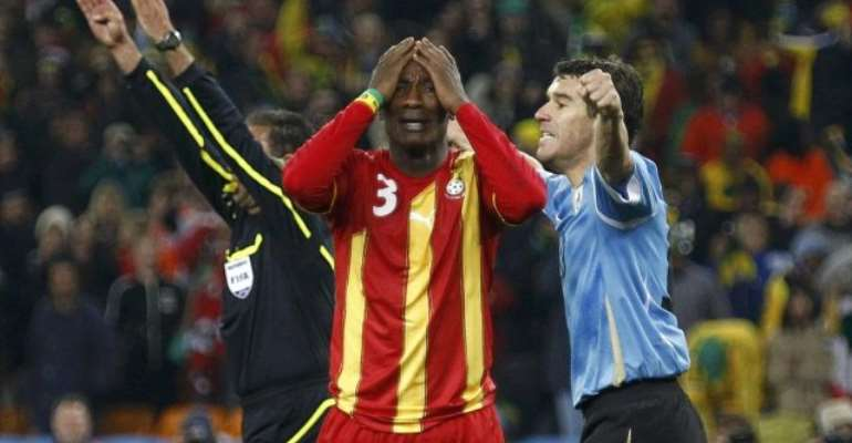 Asamoah Gyan Dreams Of Taking 2010 World Cup Penalty Against Uruguay Again