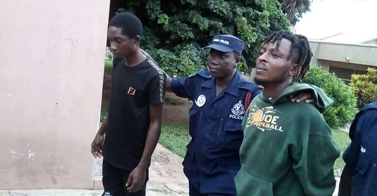 A/R: Nigerian Arrested For Caging His Brother 6months Over Gh20
