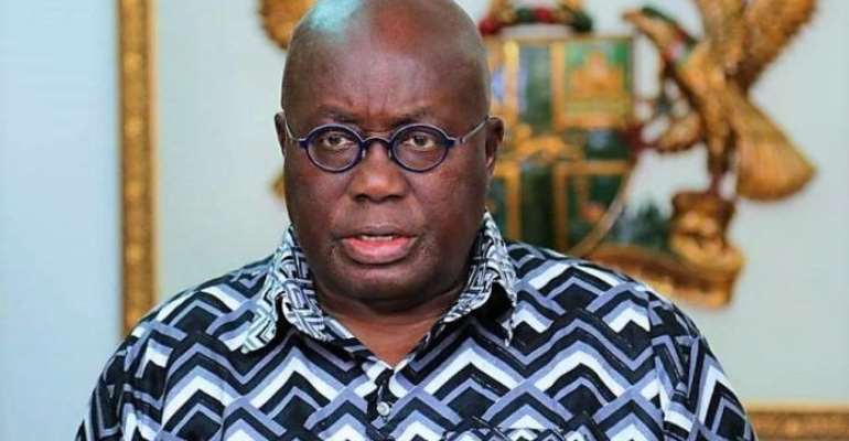 Akufo-Addo Is Fully Clothed, Trust Me