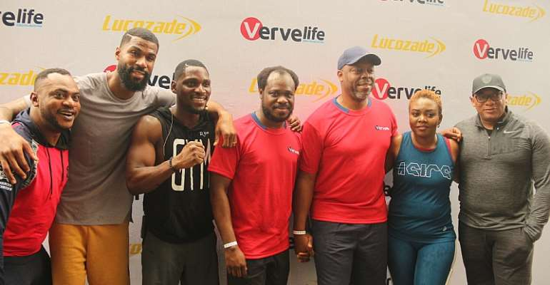 Verve International Hosts Fitness, Fun & Lifestyle Event