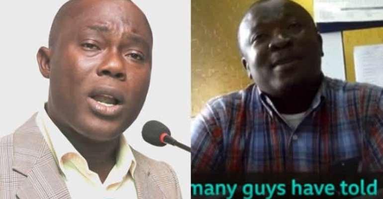 Prof. Gyampo (L) and Dr. Butakor