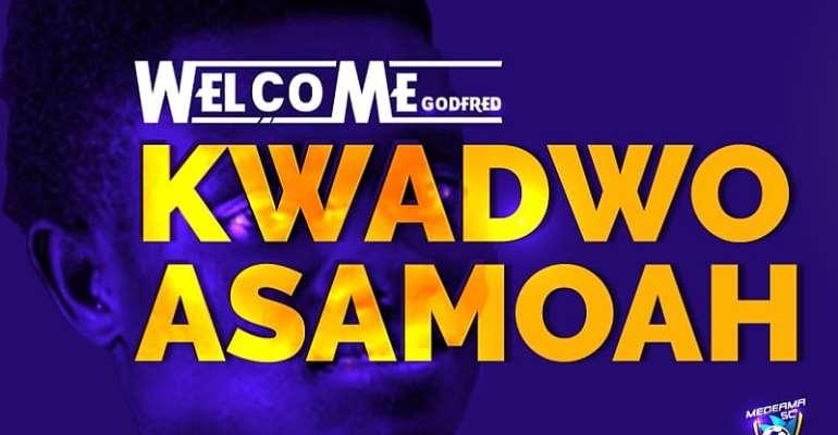 Medeama SC Sign Skilled Midfielder Kwadwo Asamoah