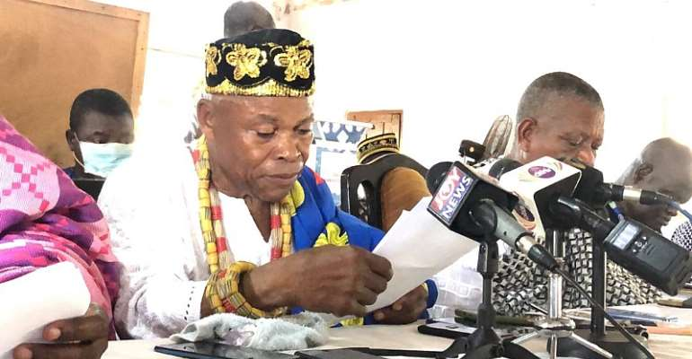 V/R: Increase Security In Afife To Prevent Western Togoland Attack – Chief