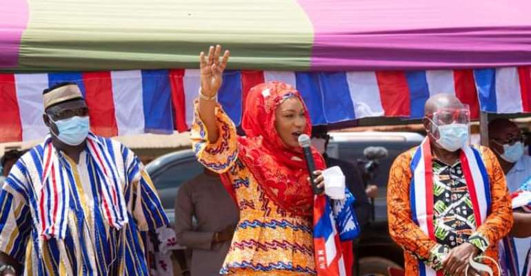 Politics Is For Dev't, Akufo-Addo Has Kept His Promise; Give Him Four More Years – Samira To Krobos