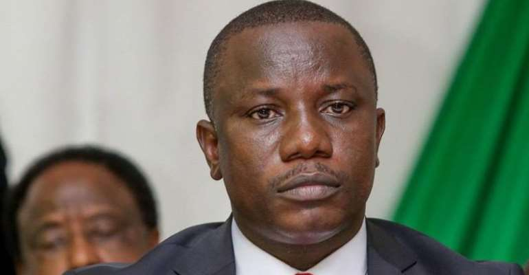 Nitiwul Threatens To Sue Lady Accusing Him Of Extorting GHS100 From NaBCo Beneficiaries To Fund His 2020 Campaign