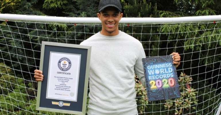 Trent Alexander-Arnold Enters Guinness World Records Book