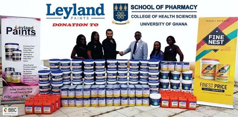 Leyland Paints Supports UG School Of Pharmacy
