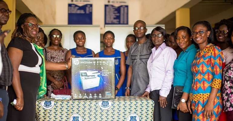 Gey Hey 85 Year Group Supports Accra Wesley Girls
