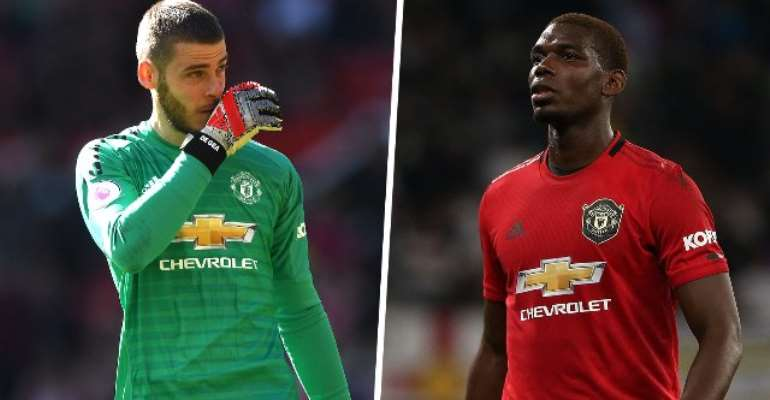 Man Utd Stars Pogba And De Gea Ruled Out Of Liverpool Clash