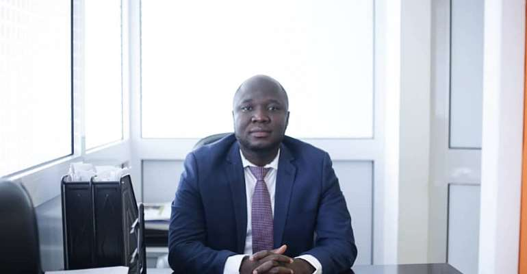 The founder of Clever Lines, Stephen Asiedu