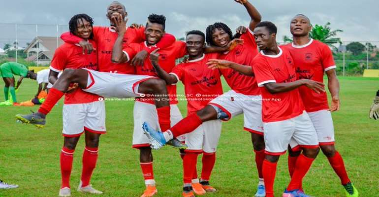 CAF CC: Asante Kotoko In High Spirit Ahead Of San Pedro Clash