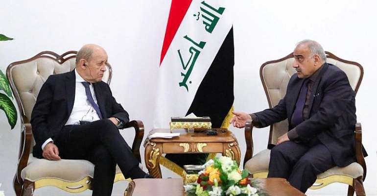 Iraqi Prime Minister Media Office/Handout via REUTERS