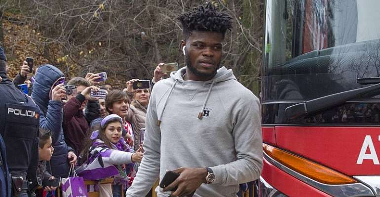 Spanish Police Arrest Thieves That Broke Into Thomas Partey's House