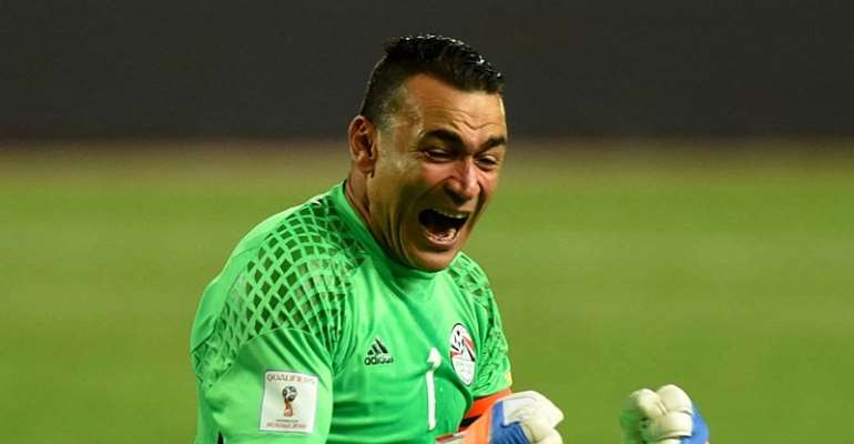 Egypt Legend Essam El-Hadary Named In 2020 Guiness Book Of Records