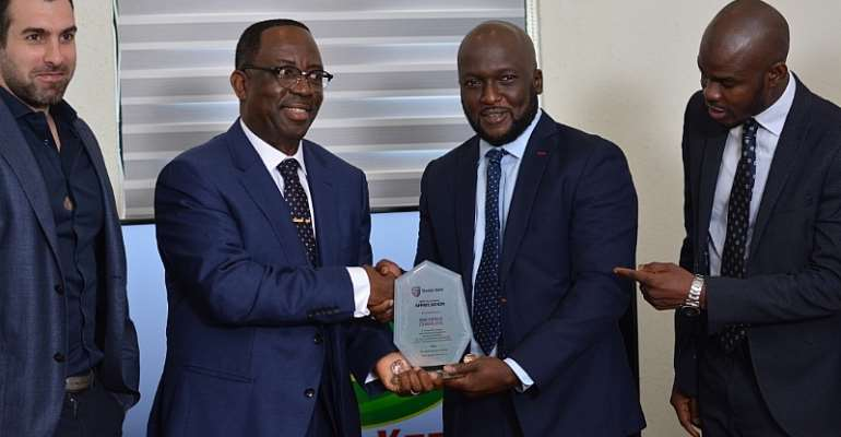 KGL Receives Most Outstanding Customer Award