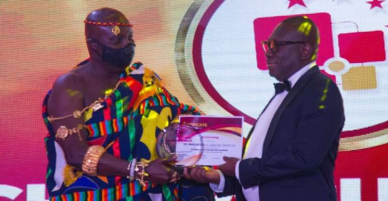 Ghana Post MD Most Outstanding CEO Of The Year 2019 For State Enterprise