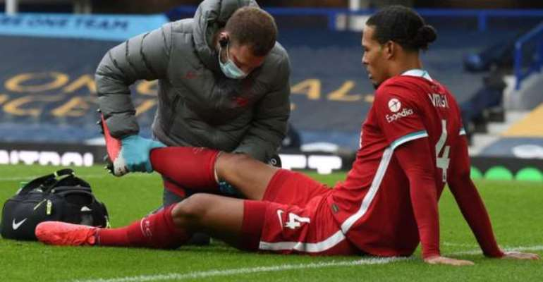 Virgil van Dijk Injury Is Not Good, Says Jurgen Klopp After Liverpool Draw With Everton