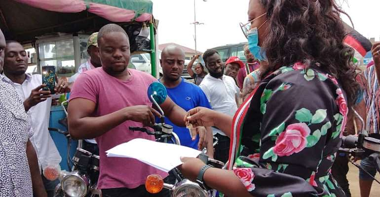 Kasoa Shooting: NDC PC Presents Motorbikes To Victims, Demands For Justice