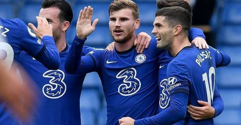 Timo Werner Scores First Premier League Goals But Southampton Come from Behind To Draw With Chelsea