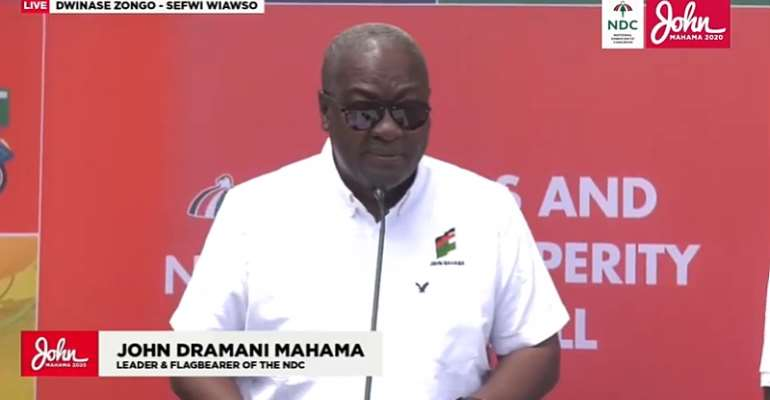 We'll Allocate Part Of Big Push Funds To tackle Accra's Flooding – Mahama Promises