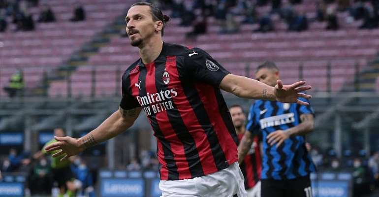 Ibrahimovic Double Gives Milan Derby Win