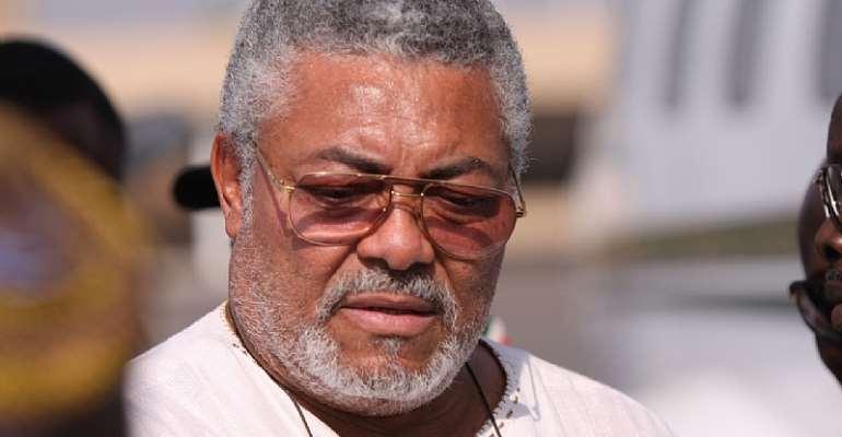 President Rawlings Bids Ghana Goodbye