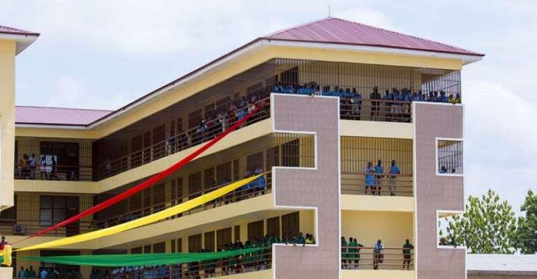 Free SHS: Kwabenya Students Eat Raw Waakye