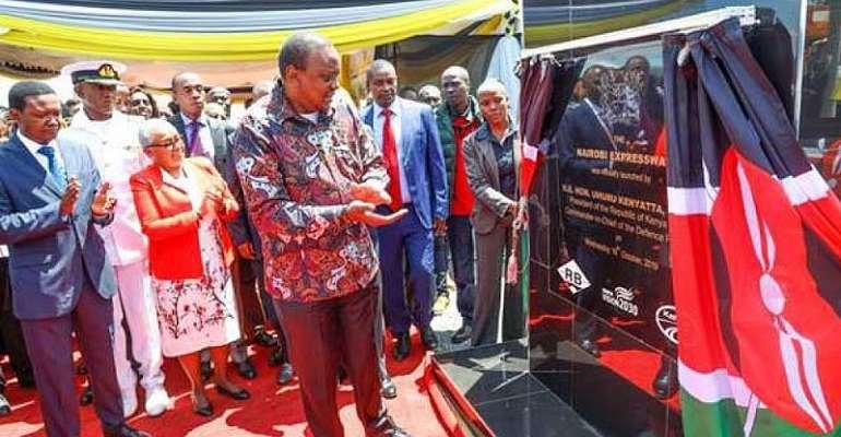 President Kenyatta defends 'bridge' to connect with opposition