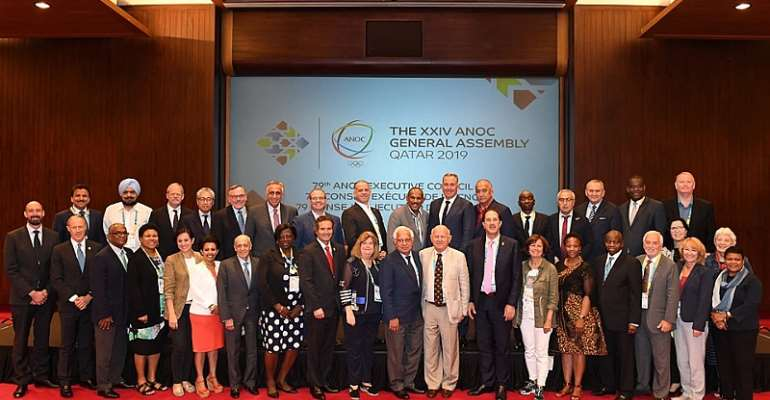 ANOC Executive Council Meets In Doha Ahead Of General Assembly