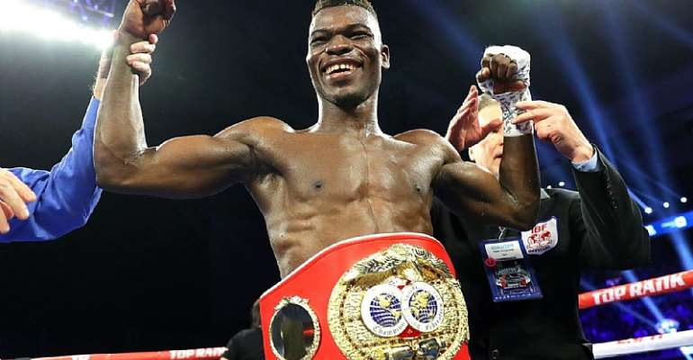 IBF Champion Richard Commey Tipped For 2019 SWAG Sports Personality Of The Year