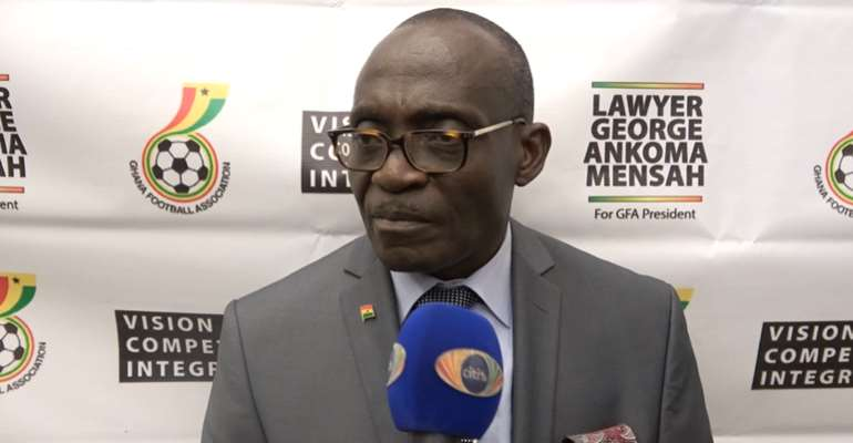 GFA Elections: George Ankama Mensah Vows To Fight Corruption After Launching Manifesto