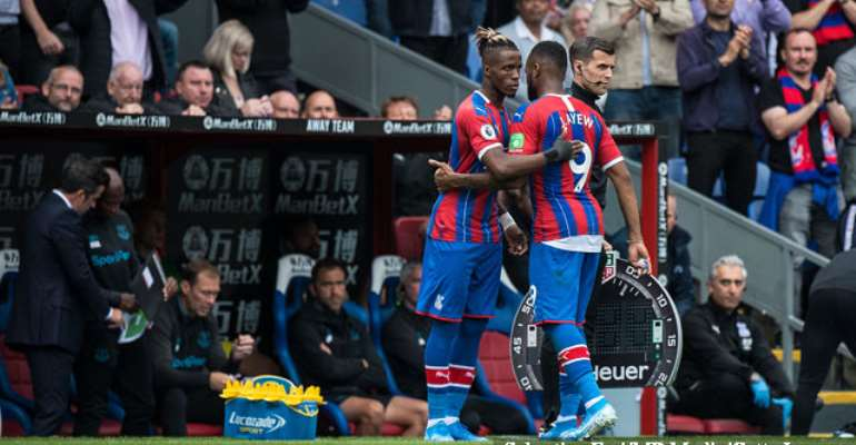 Ayew Backs Zaha To Find Goal Scoring Form In No Time