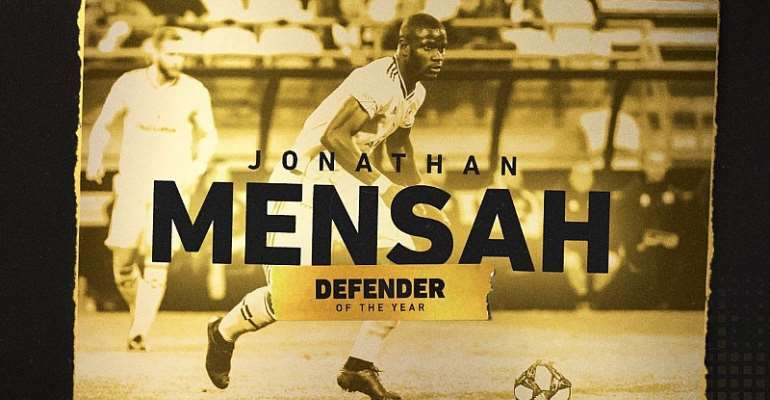Ghana's Jonathan Mensah Named Columbus Crew Defender Of The Year
