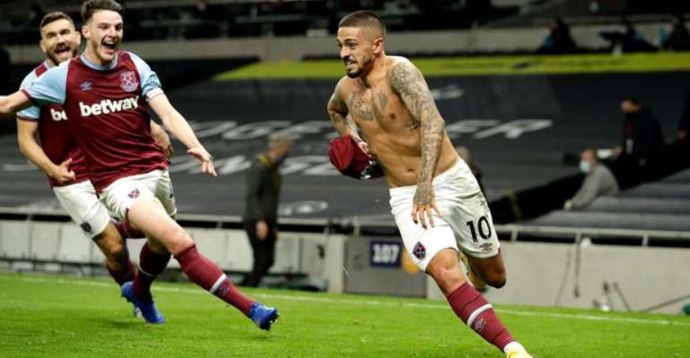 West Ham Fight Back To Draw From Three Down To Stun Spurs