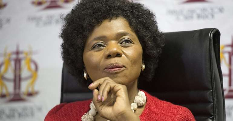 Thuli Madonsela, professor of law and former Public Protector of South Africa. - Source: EFE-EPA