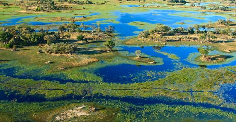 Fracking in the headwaters of the Okavango delta may negatively affect the water quality in this water source area. - Source: GettyImages
