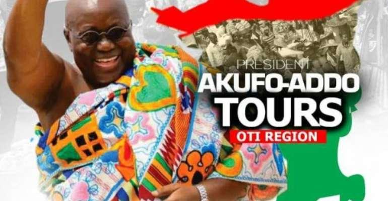 Akufo-Addo To Tour Oti Region From Wednesday