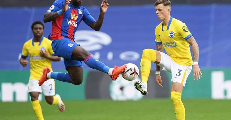 Jeffrey Schlupp Features For Crystal Palace In Draw Against Brighton