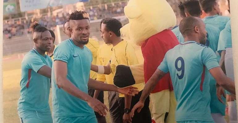 Former Hasmal Defender Alex Amuzu Switches To Bahir Dar Kenema In Ethiopia