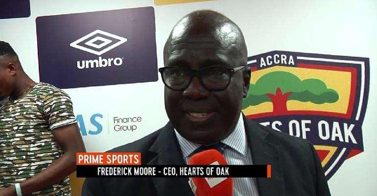 Hearts of Oak Will Return To It Glory Days, Says Fredrick Moore
