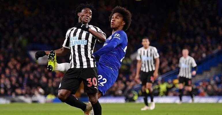 Christian Atsu Cameo As Newcastle Suffer 1-0 Defeat At Chelsea