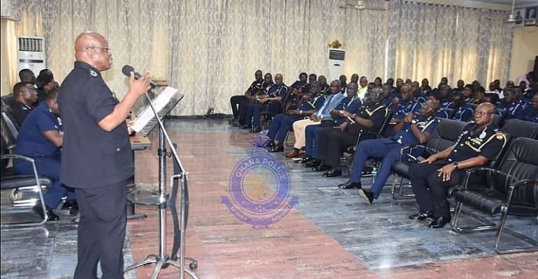 Commanders, Station Officers Admonished To Pay Attention To Unprofessional Conducts